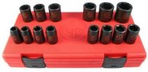 Trusă 14 chei tubulare de impact 1/2 hexagon ,SS4114, 10-11-12-13-14-15-16 -17-18-19-21-22-26-27mm