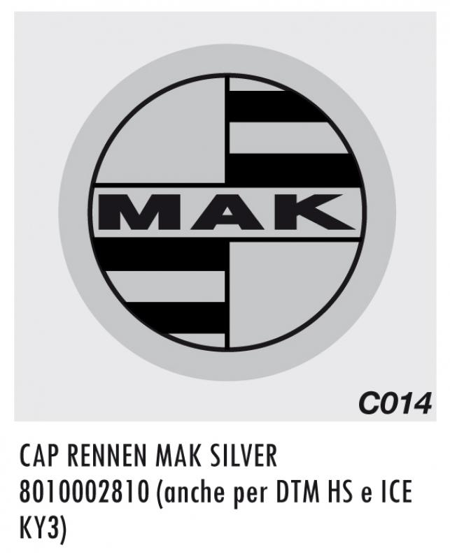 CAP C014 RENNEN MAK SILVER