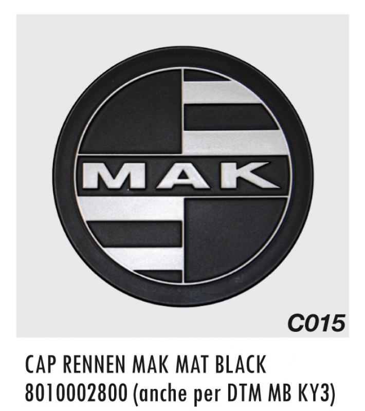CAP C015 RENNEN MAK MAT BLACK