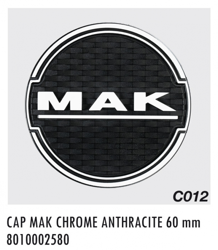 CAP C024 MM60 HYUND.CONV.POLISH+BLACK