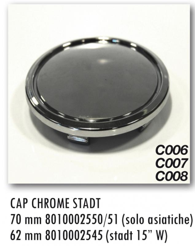 CAP C008 MM62 CHROME (STADT 15 W)