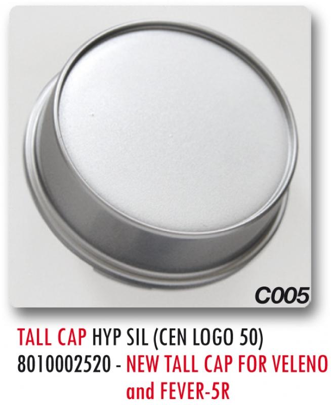 TALL CAP C005 HYPER SILVER (LOGO 50)