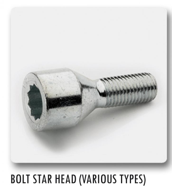 STAR BOLT M12X1,25X28   VSTB28