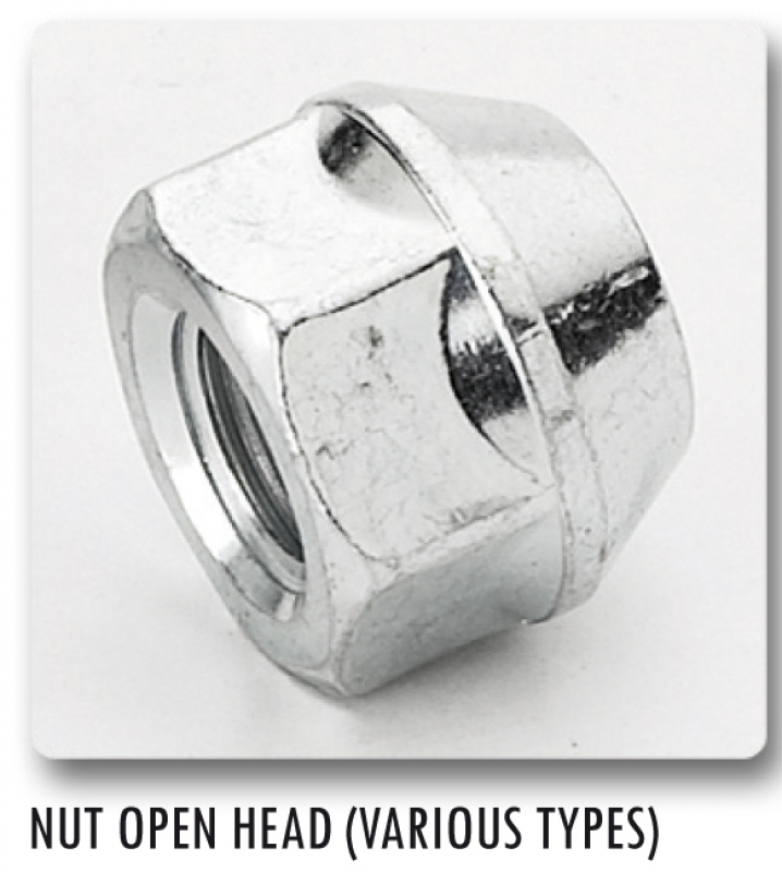 NUT M12X1,5 CH 21 OPENED    D21