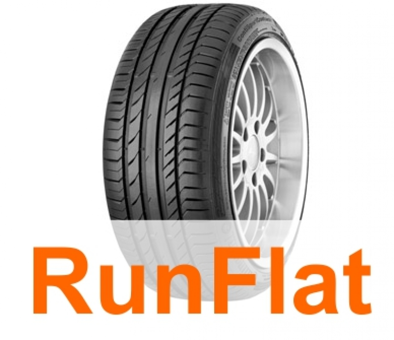 CONTINENTAL SPORT CONTACT 5 SSR * 225/40/R18 88Y    VARA